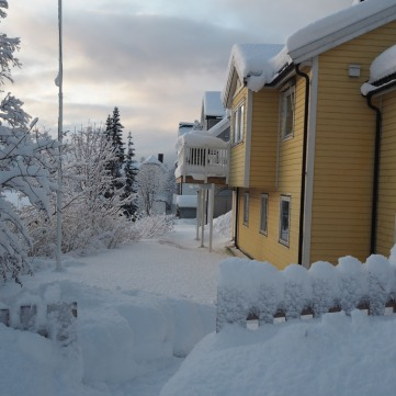 Casita tipicas Noruegas